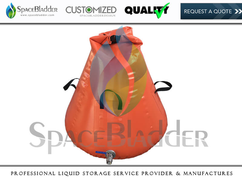 Customized Onion Shape Water Bladder Tank for Forest Fire Prevention