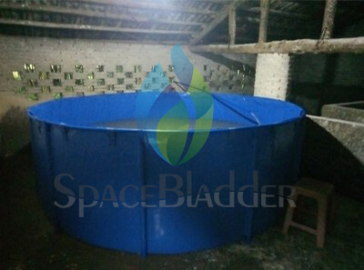 7000L Frame Support Tank for Water Storage on Family