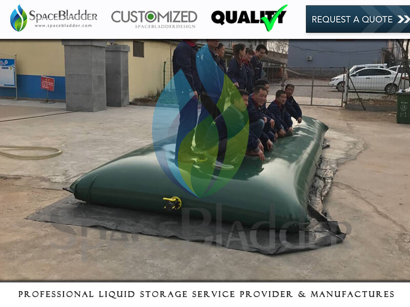 5000 Litre PVC Pillow Water Tanks Water Harvesting and Storage for Irrigation
