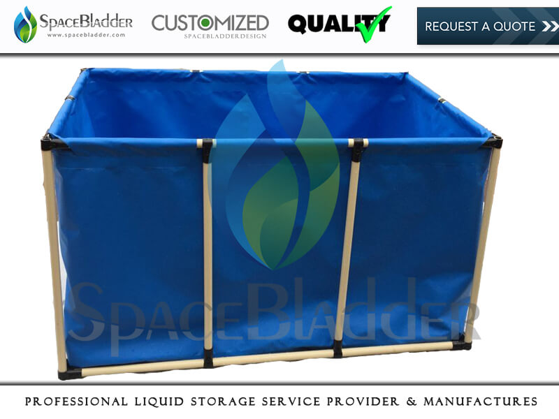 Small Size PVC TPU Galvanized Frame Support Water Tanks With Muti-purpose