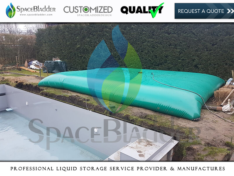 10000 Litre 20000 Litre Foldable Pool Water Storage Tanks Pool Bladder For Pool Refurbishing and Clean