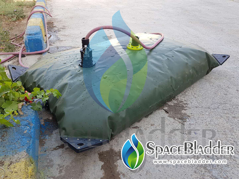 500L PVC Pillow Water Tank To Iran Customer